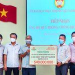 Tập đoàn Hưng Thịnh trao tặng thiết bị y tế cấp thiết đến tỉnh Phú Yên