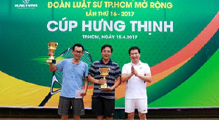 Hung Thinh Corp tài trợ giải Quần vợt Đoàn Luật sư TP.HCM mở rộng lần thứ 16 – 2017 – Tập đoàn Hưng Thịnh