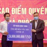 Tập đoàn Hưng Thịnh trao tặng gần 30 tỷ đồng cho Quỹ phòng, chống dịch Covid-19 tại tỉnh Bà Rịa – Vũng Tàu và Lâm Đồng