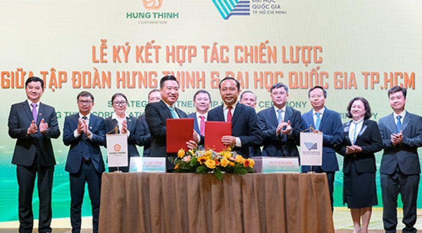 Tập đoàn Hưng Thịnh và Đại học Quốc gia TP.HCM ký kết hợp tác chiến lược – Tập đoàn Hưng Thịnh