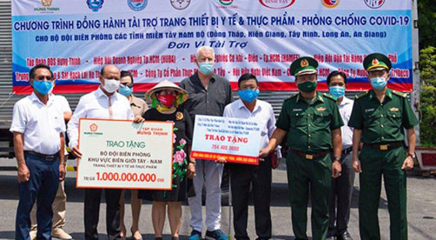 Tập đoàn Hưng Thịnh tài trợ 1 tỷ đồng cho Bộ đội Biên phòng phục vụ công tác phòng, chống dịch Covid-19 – Tập đoàn Hưng Thịnh